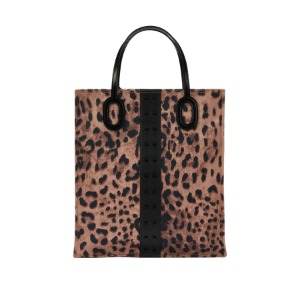 [콰니] O Handle Tote_Leopard